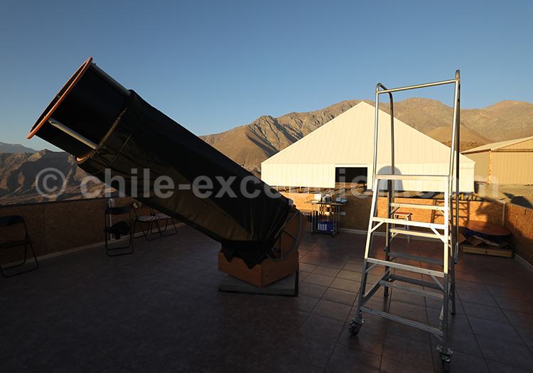 Téléscope, Observatoire el Pangue