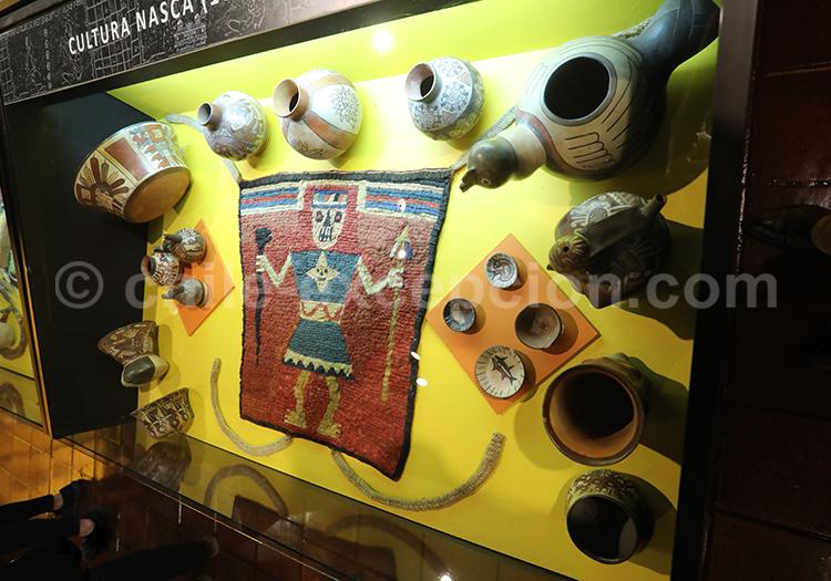 Textiles de la culture Nasca, Musée Colchagua