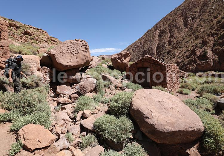 Circuit de randonnée près de San Pedro de Atacama