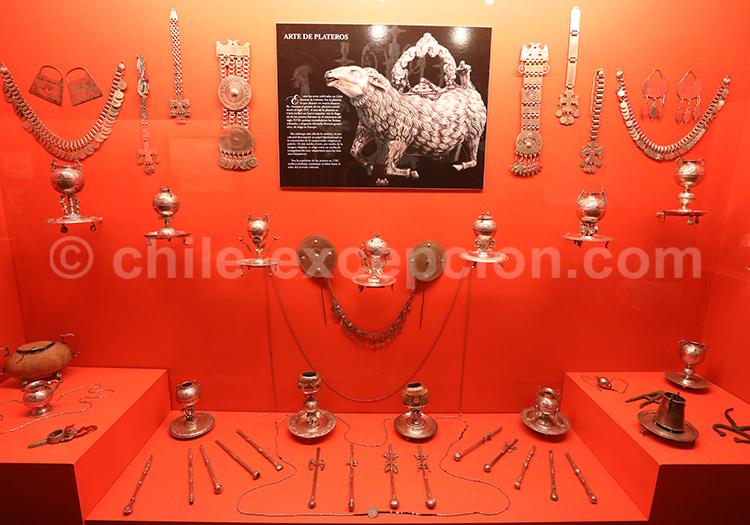 Collection d'argenterie, Musée Colchagua
