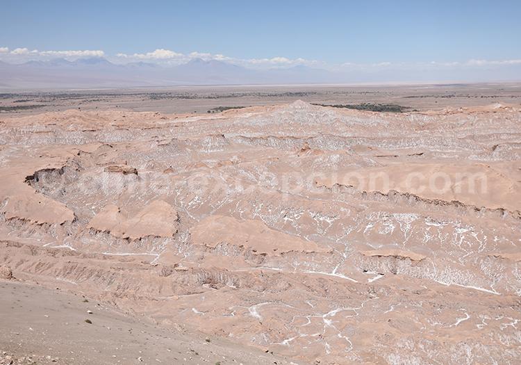 Visite du Mirador Piedra del Coyote, alentours de Atacama