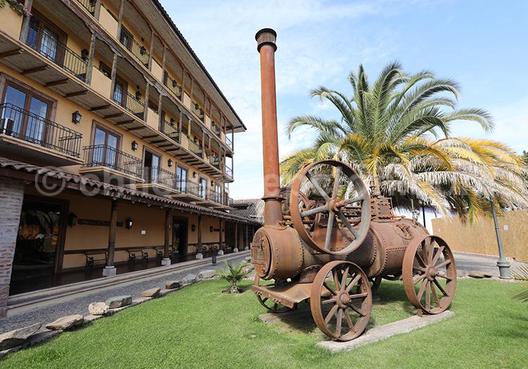 Visite guidée du musée Colchagua, Santa Cruz, Chili