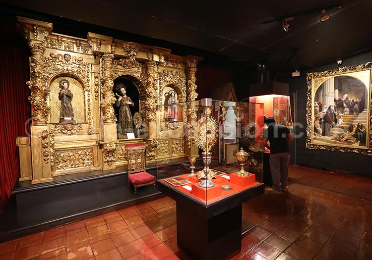 Autel colonial, Musée Colchagua