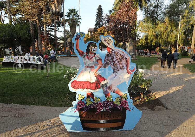 Les vendanges de Santa Cruz, Chili
