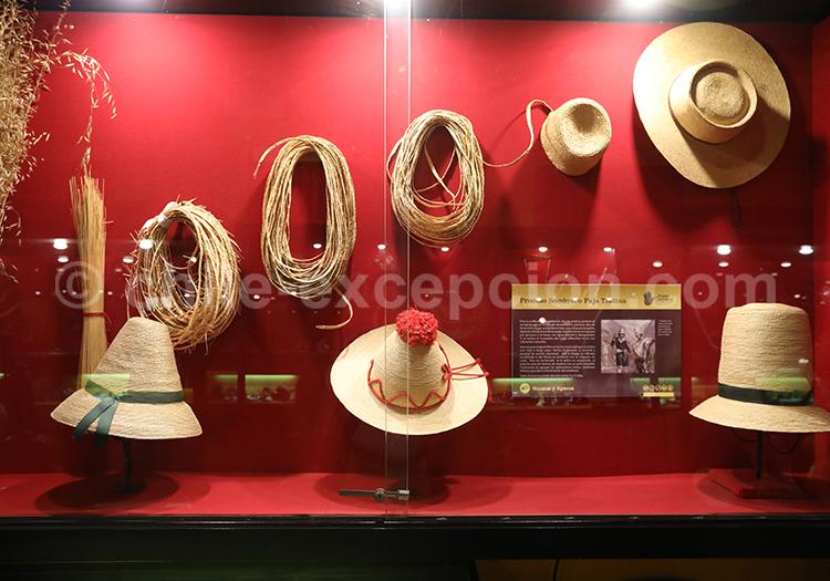 Sombreros andinos, Musée Colchagua