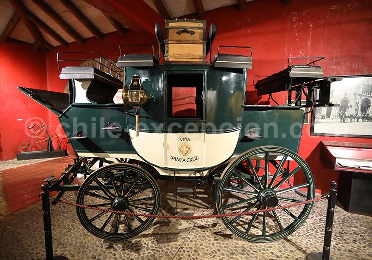 Carrosse de Santa Cruz, Musée Colchagua