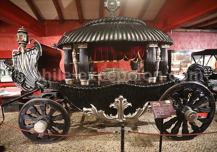 Ancien carrosse, Musée Colchagua