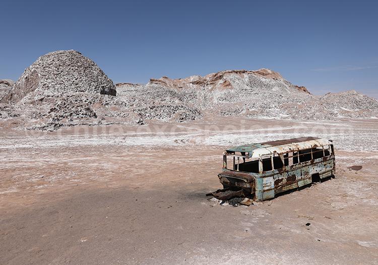 Valle del bus, Vallecito, San Pedro de Atacama