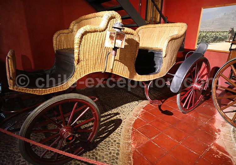 Ancien carrosse pour divers événements, Musée Colchagua
