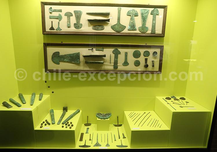 Armes précolombiennes, musée Colchagua