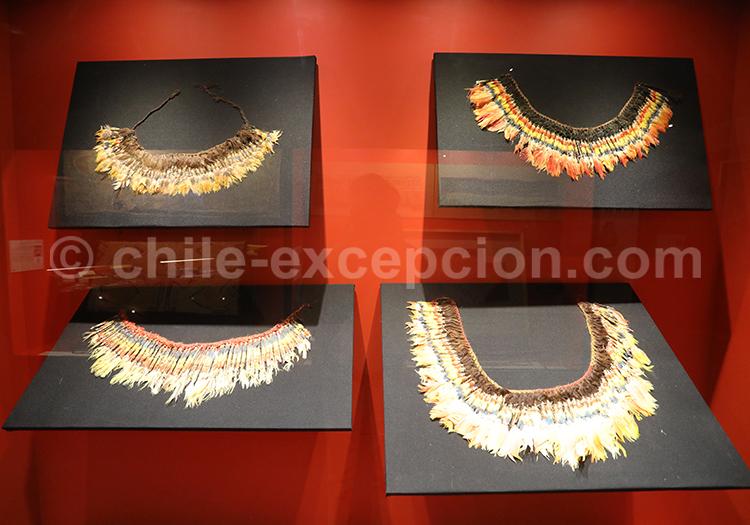 Musée Colchagua, colliers de cérémonies précolombiens