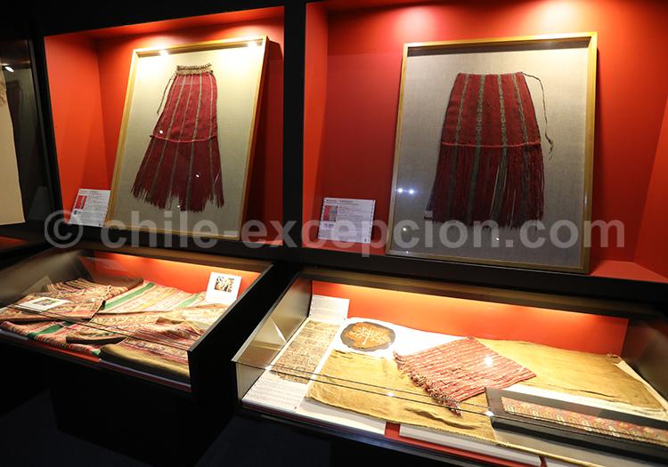 Textiles préhispaniques, Musée Colchagua