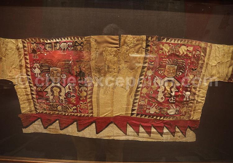 Habit traditionnel précolombien, Musée Colchagua