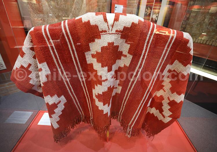 Poncho traditionnel du Chili, Musée Colchagua