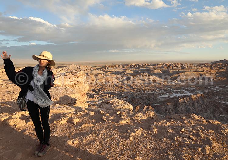 Excursion aux alentours de San Pedro de Atacama, Mirador Piedra del Coyote