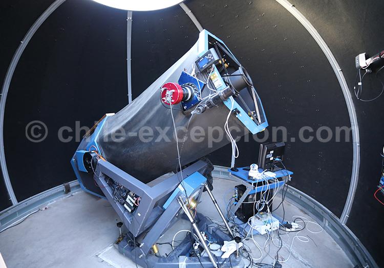 Observatoire el Pangue, astrotourisme