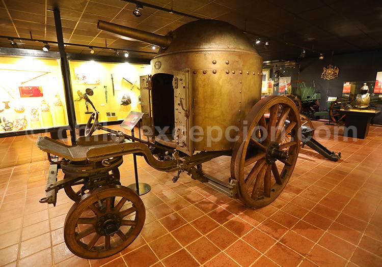 Véhicule de guerre, Musée Colchagua