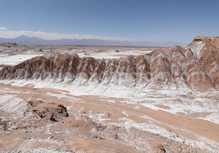 Vallecito, montagnes de sel