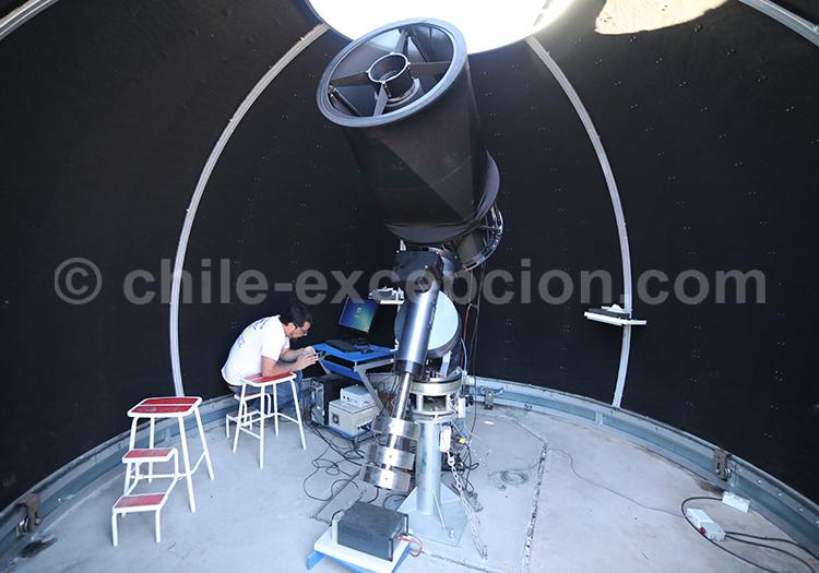 Observer les astres, astrotourisme au Chili