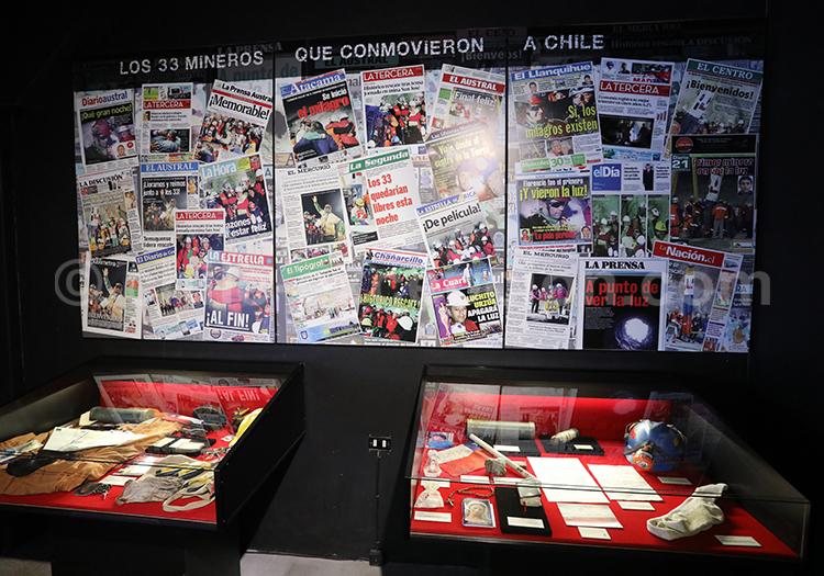 Histoire moderne et événements du Chili, Musée Colchagua