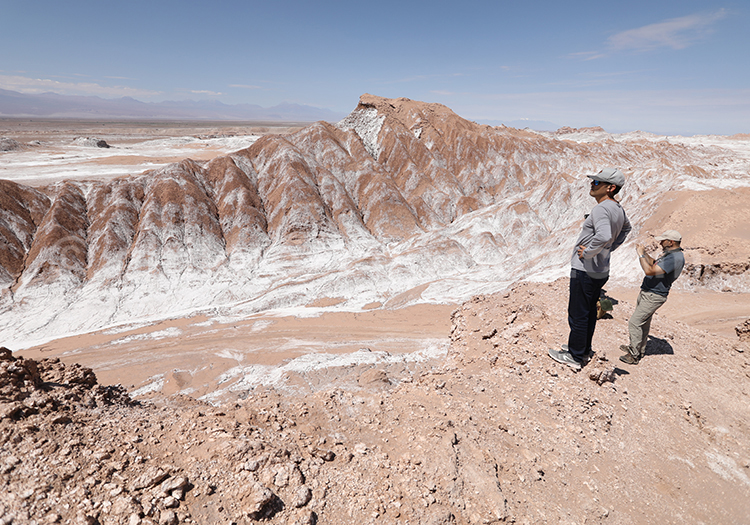 Vallecito, désert de sel