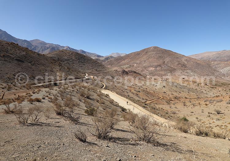Route Antakiri, Nord du Chili