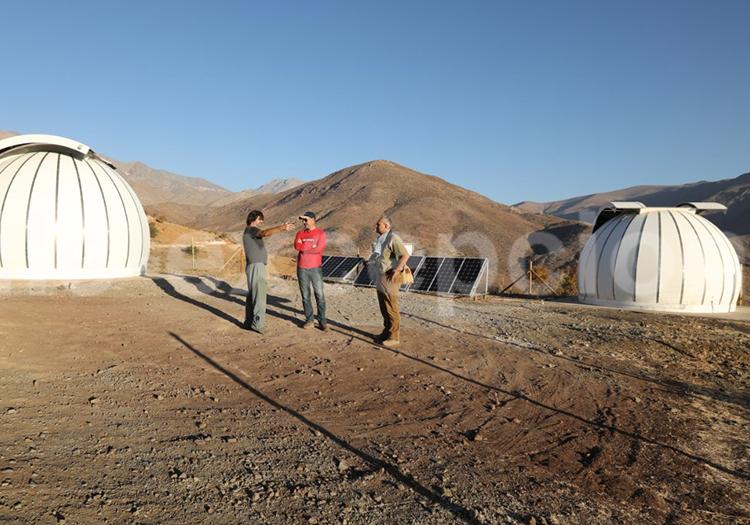 Visite exclusive à l'observatoire el Pangue