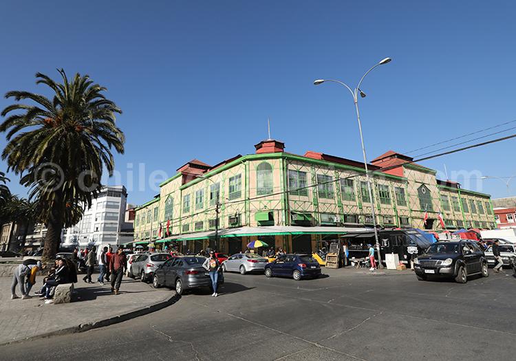 Mercado El Cardonal, endroits à visiter à Valparaiso, Chili