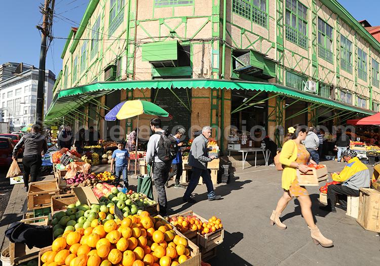 Marché El Cardonal, lieu typique de Valparaiso