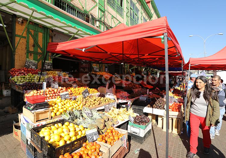 Marché El Cardonal, visiter Valparaiso