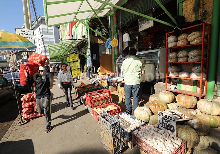 Culture du marché au Chili