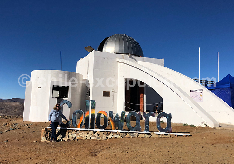 Observatoire astronomique de Colowara, Chili avec Chile Excepción
