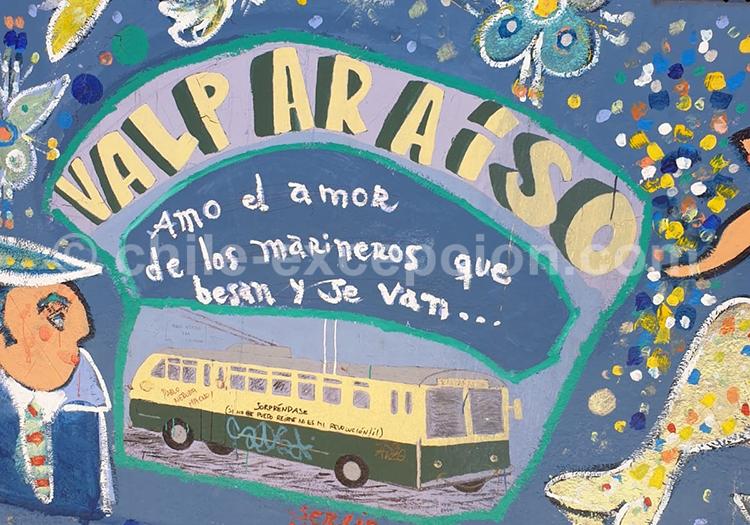 Au fil de l'eau à Valparaiso