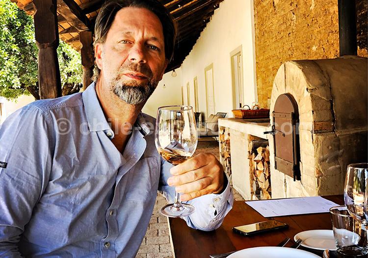 Dégustation à Casa Bouchon, Chili