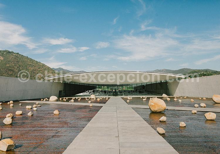 Magnifique Bodega, Viña Vik, vallée de Millahue, Centre Chili avec l'agence de voyage Chile Excepción