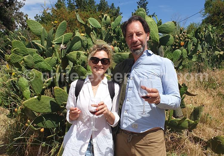 Jean-Michel & Marie-Laure Lepineau sur la route des vins du Chili