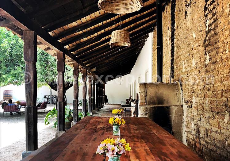 Vie monastique sur la route des vins du Chili