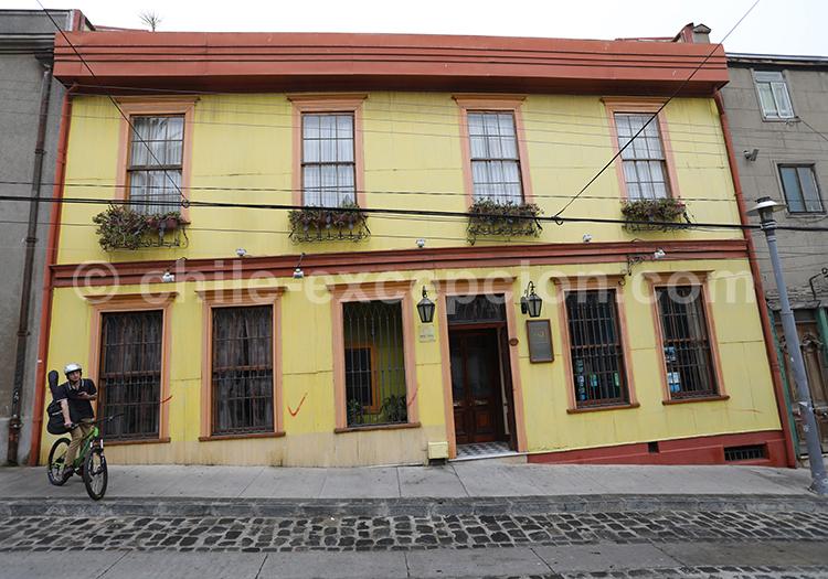 Hôtel Acontraluz, Valparaiso, Chili avec l