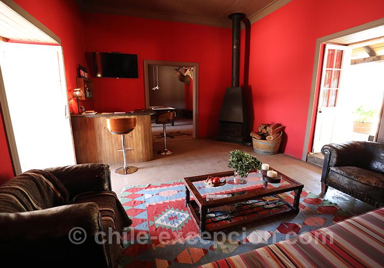 Estancia Mingre et l'hôtel boutique Casa Bouchon, Chili