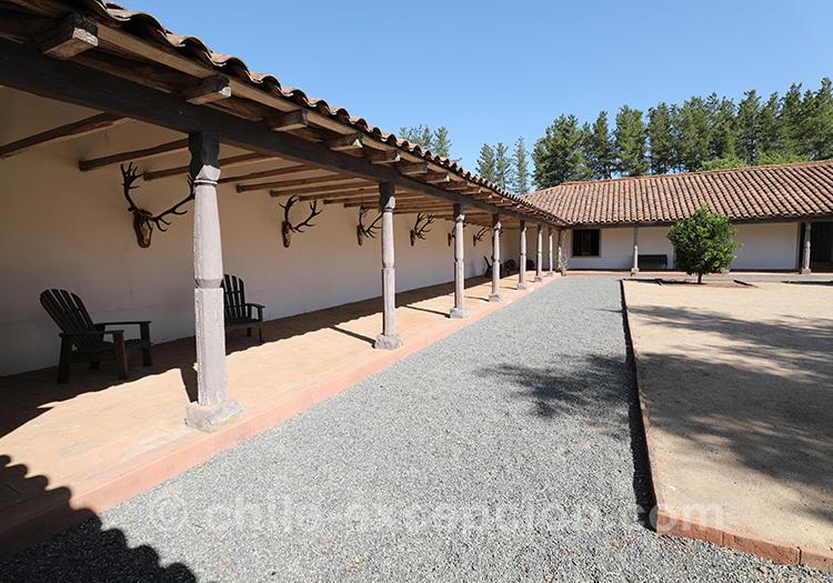 Hôtel boutique du Chili, Casa Bouchon, en plein milieu des vignes, Chili