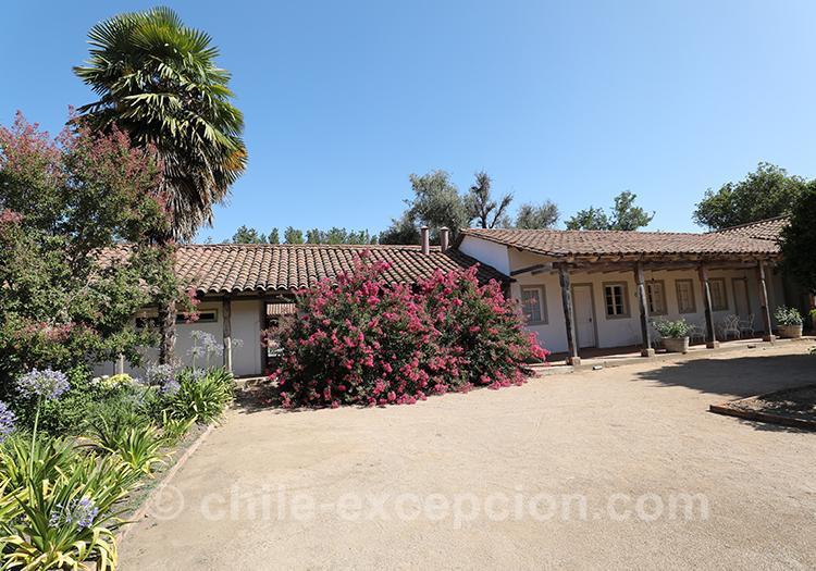 Casa Bouchon, hôtel boutique du Chili