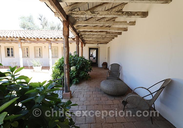 Haut-vent de Casa Bouchon, estancia Mingre, Chili