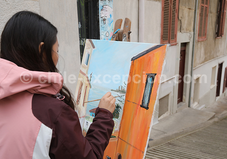 Quartier artistique de Valparaiso