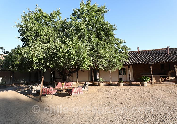 Casa Bouchon, estancia Mingre, centre Chili