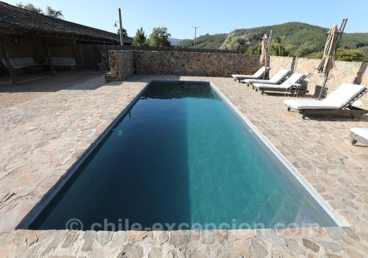 Où profiter de la piscine au Chili, Casa Bouchon