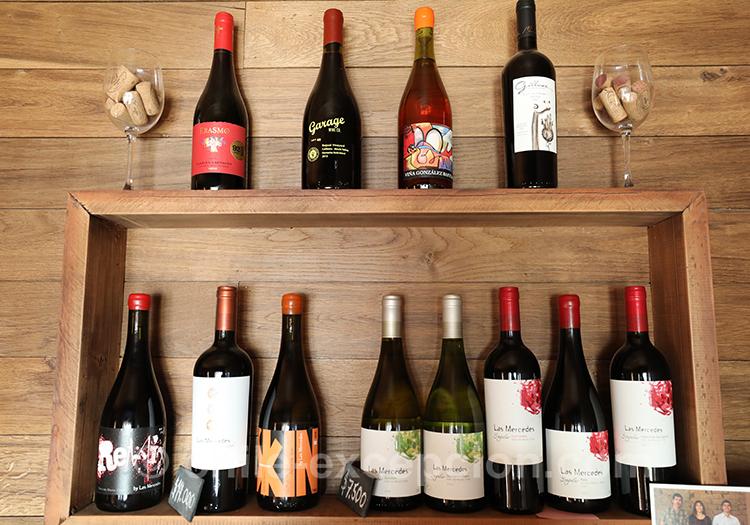 Choisir son vin à la Casa Bouchon de la vallée del Maule au Chili