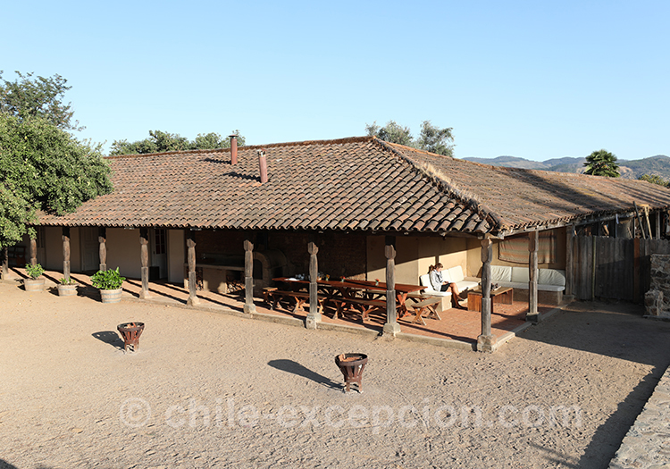 Casa Bouchon, estancia traditionnelle du Chili, Estancia Mingre