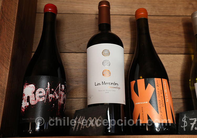 Quel vin choisir à la Casa Bouchon, Chili