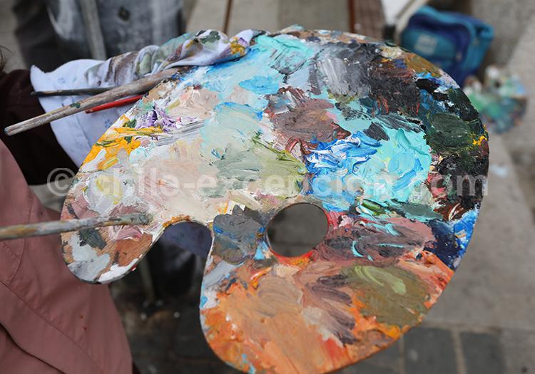 Les artistes chiliens à Valparaiso