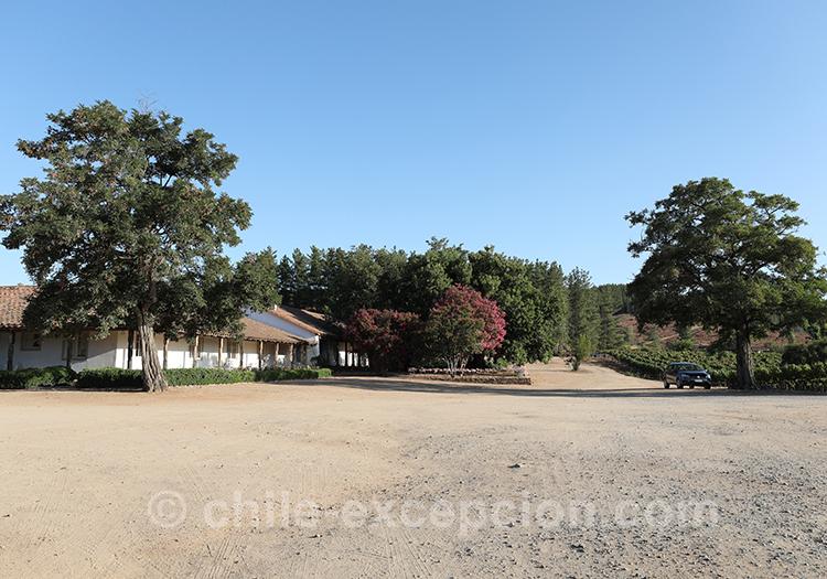 Se rendre à la Casa Bouchon, Chili